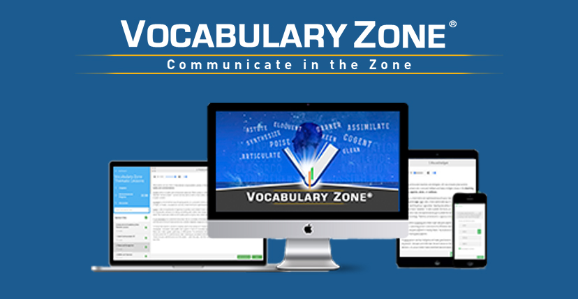 Vocabulary Zone: NEW Audio Vocabulary Builder App & Software